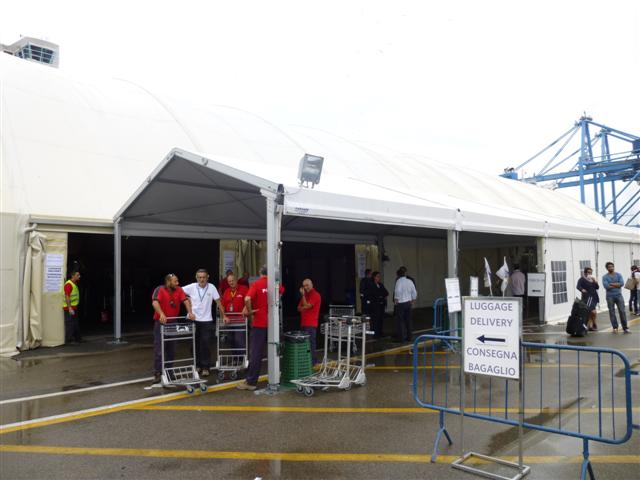 Travelling from civitavecchia train station to - Port of civitavecchia cruise terminal ...